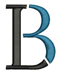3D Puff B Logo